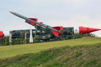 Raketer och missiler i Havanna från Kubakrisens dagar.