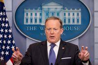 Vita husets presschef Sean Spicer.