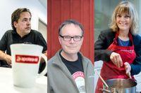 Per Svärdson, Björn Falkeström och Kicki Theander har alla tre chans att ta sig vidare till finalen i SvD Affärsbragd.