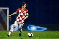 Real Madrid-stjärnan Luka Modric tror på ett tufft möte med Sverige. Arkivbild.