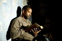 "Denzel Washington i filmen ""Book of Eli""."