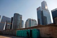Det kinesiska fastighetsbolaget Fantasia Holdings ställer in en stor betalning. Arkivbild.