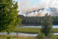Skogsbranden i Enskogen utanför Ljusdal var en av sommarens största.
