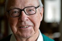 Hans Blix, tidigare generalsekreterare för FN:s atomenergiorgan IAEA. Arkivbild.
