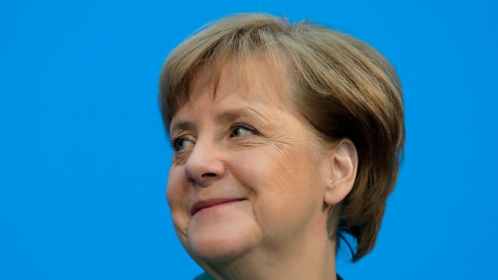 Tysklands förbundskansler Angela Merkel. Arkivbild.