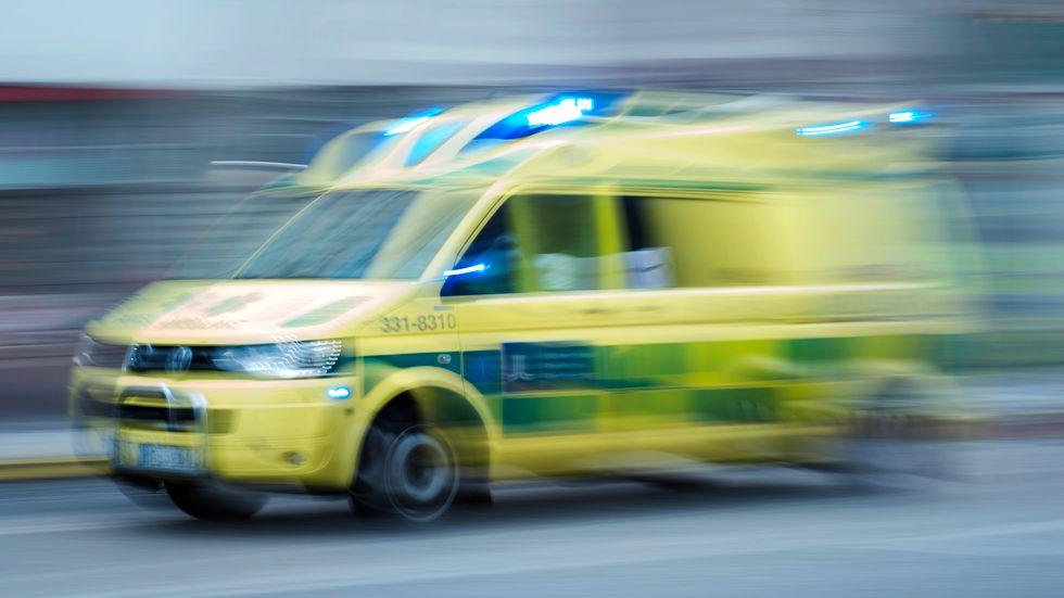 En 24-årig man har livshotande skador efter en arbetsplatsolycka i Gällivare. Arkivbild.