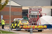 39 döda personer i lastbil – kom via Belgien till England