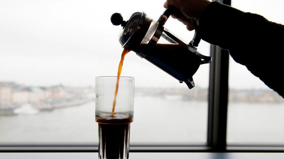 Kaffe gör dig gott.