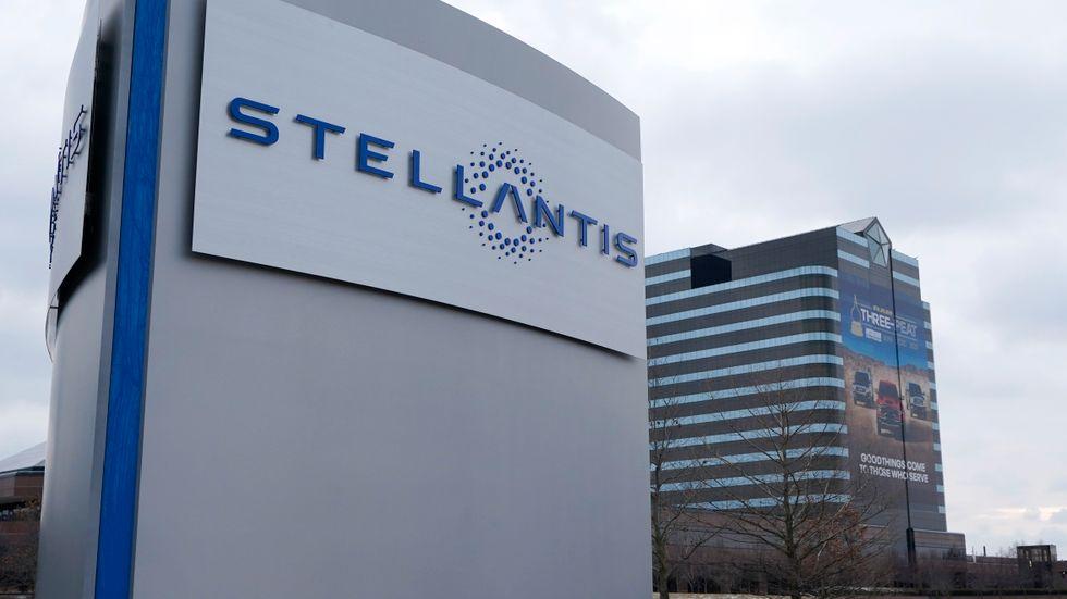 Biltillverkaren Stellantis redovisar andra kvartalet. Arkivbild.