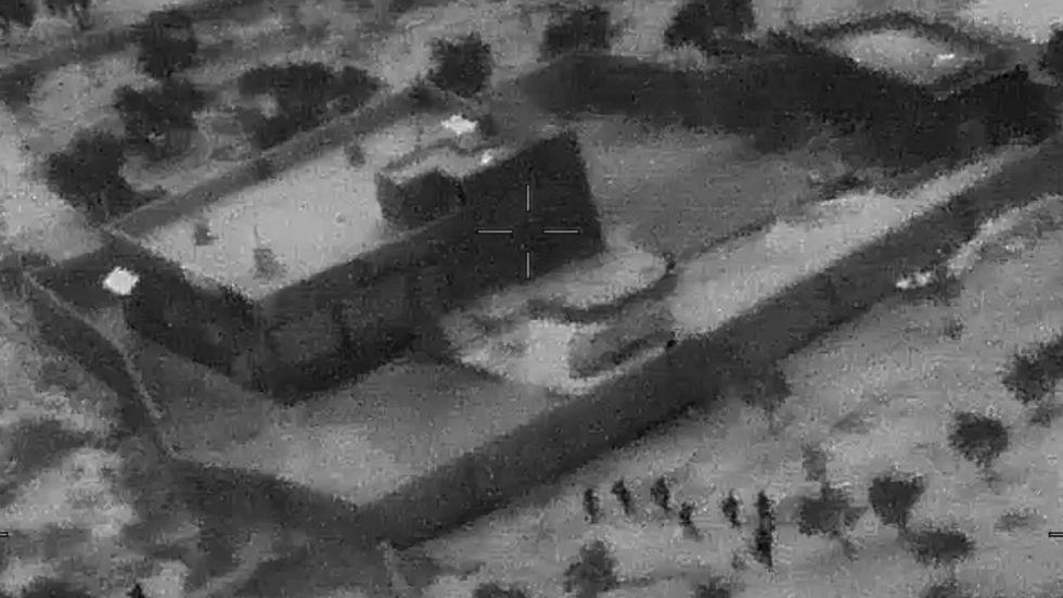 Stillbild från filmen Pentagon har släppt.