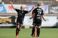 Rebecka Blomqvist (21) visade vägen i 2–0-segern borta mot Umeå. Arkivbild.