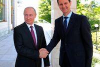 Rysslands president Vladimir Putin och hans syriska kollega Bashar al-Assad fotograferade i Ryssland 2018.