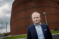 Fortum, med vd Pekka Lundmark, redovisar bokslut. Arkivbild