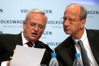 Martin Winterkorn och Hans Dieter Pötsch