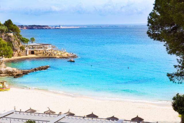Playa de Illetas.