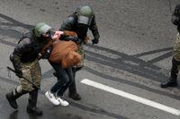 De som protesterar mot president Aleksandr Lukasjenko riskerar att fängslas eller dödas.