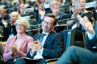 Nya partiledaren Ulf Kristersson och Elisabet Svantesson, ny ekonomiskpolitisk talesperson, stod i centrum när Moderaterna höll partistämma i Örebro i helgen.