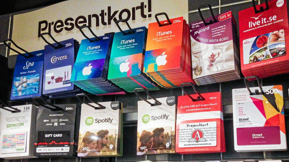 Presentkort via Goyada och Cashcom kan bli värdelösa om företagen sätts i konkurs.