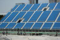 Det blir tomma läktare under OS i Tokyo. Arkivbild.