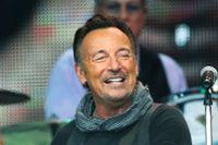 Bruce Springsteens tillsammans med sitt E Street band på Nya Ullevi i Göteborg i somras.