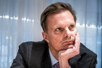 Jens Henriksson, vd på Swedbank.