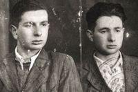 Oswald Rufeisen, till höger, på en bild från den sionistiska ungdomsrörelsen Bnei Akiva. Vilnius, 1940.