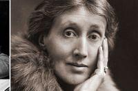 """Dorothy L Sayers och Virginia Woolf, två av fem kvinnor som skildras i """"Square haunting""""."""