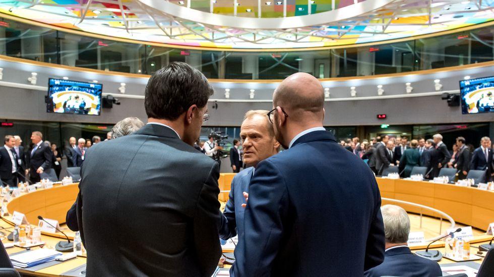 Möte i europeiska ministerrådet i oktober 2019.