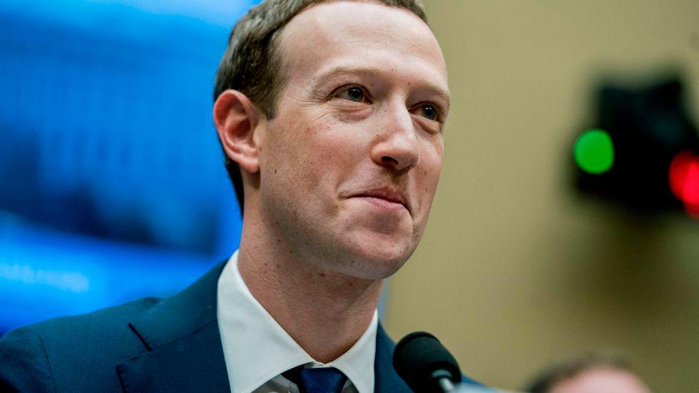 Facebooks grundare och vd Mark Zuckerberg. Arkivbild.