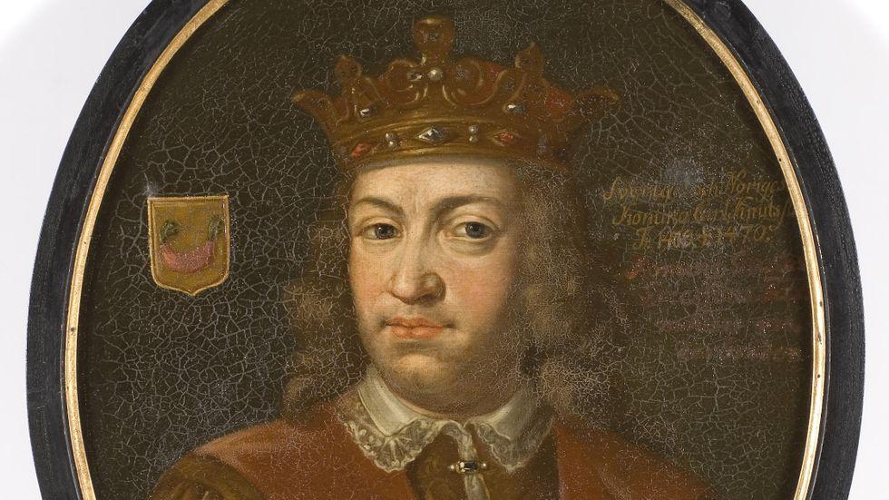 Kung Karl Knutsson försökte bättra på sin svaga position genom folkliga danskhatarvisor med lågt sanningsvärde.