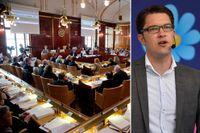 I Västra Götaland sitter 13 politiska vildar och 18 stolar står tomma, vilket innebär att SD förlorat 34 procent av sina mandat i länet, visar Expos granskning.