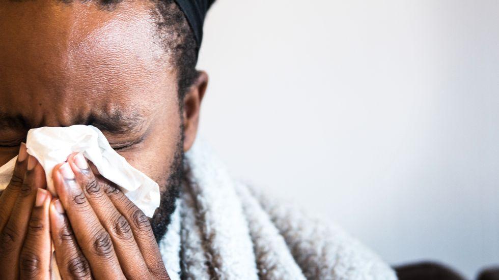 Forskare har undersökt vad som händer i immunförsvaret när vissa patienter blir allvarligt sjuka i influensa. Arkivbild.