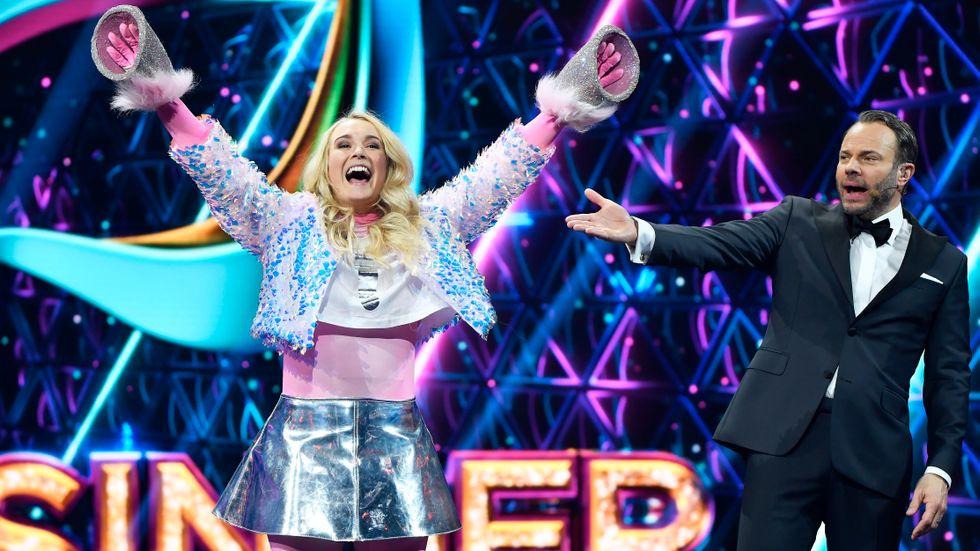 """TV4:s populära program """"Masked singer."""""""