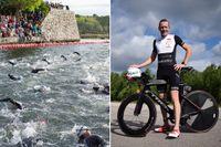 """Fredrik Sager tränar just nu inför Ironman Kalmar. """"När jag gjorde en halv Ironman i Jönköping 2016 kom jag 873 av 1823 med en tid på 5.45, det var min första extremtävling överhuvudtaget""""."""