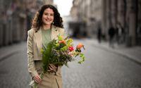 Réka Tolnai, ny ordförande för Centerpartiets ungdomsförbund.