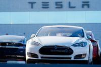 Tesla har på något år mer än sjufaldigat sitt börsvärde. Arkivbild