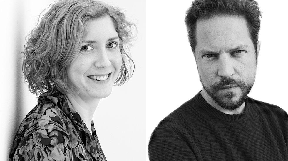 Amanda Svensson och Thomas Engström.