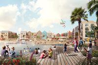 I nya levande stadsdelar planeras för 7000 bostäder, verksamheter och service, mötesplatser och fem kilometer vattenkontakt.