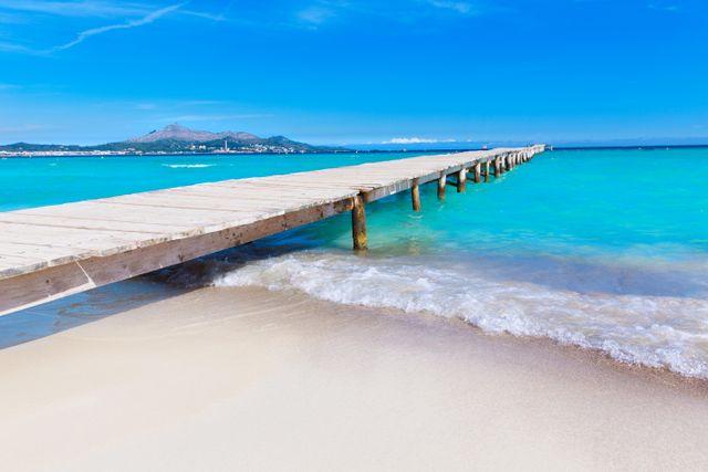 Paradisiskt på Playa de Muro.