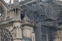 Efter branden i Notre-Dame strömmade löften om pengar till återuppbyggandet in. Men än så länge har inte de franska miljardärerna betalat vad de lovat. Arkivbild.