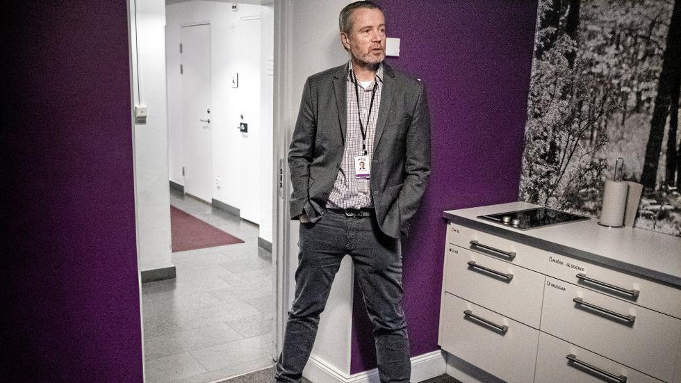 Dan Sjöblom, GD på Post och Telestyrelsen.