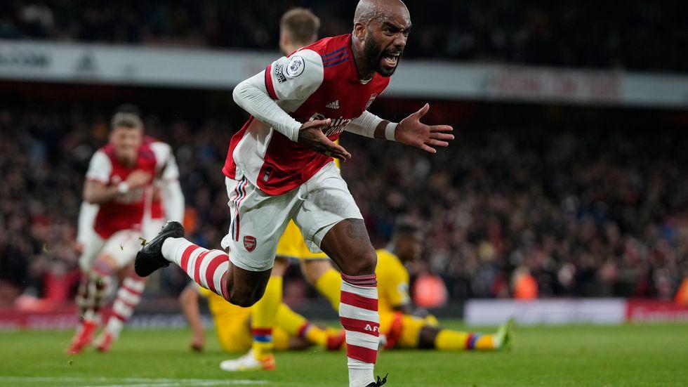 Lacazette räddade poäng åt Arsenal