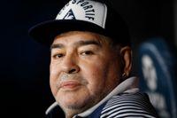 Diego Maradona har drabbats av komplikationer efter en hjärnoperation tidigare i veckan. Arkivbild.