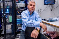 Professor Per Delsing leder Wallenbergs satsning på en kvantdator.
