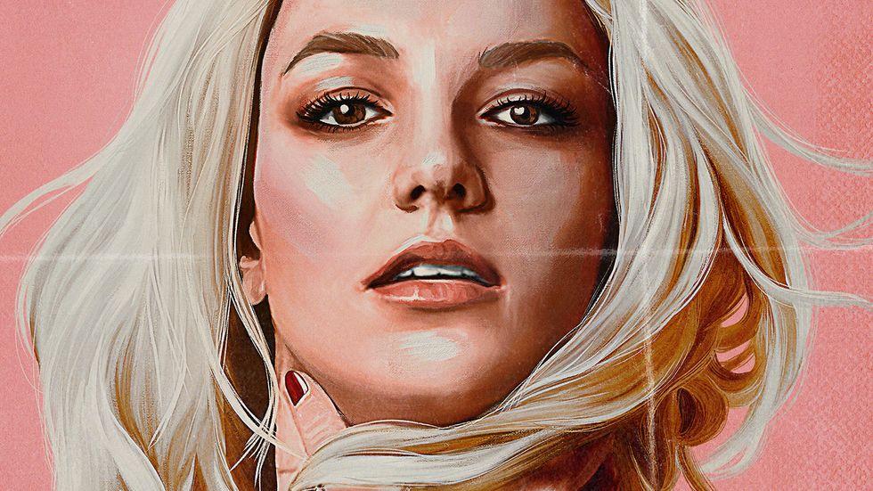 """Pressbild till nya Netflixdokumentären """"Britney vs Spears""""."""