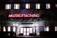 Akuten vid Akademiska sjukhuset i Uppsala har allvarliga brister och hotas nu av ett rekordvite på 20 miljoner kronor. Arkivbild.