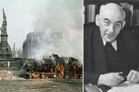 Den 13 februari 1945 skulle Victor Klemperer ha deporterats från Dresden, men han räddades av de allierades bombningar av staden samma dag.