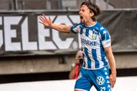 Lasse Vibe lämnar IFK Göteborg efter en säsong. Arkivbild.