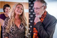 Förra årets pristagare: Ida Backlund, SvD Affärsbragd och Ingvar Kamprad SvD Alla tiders entreprenör.