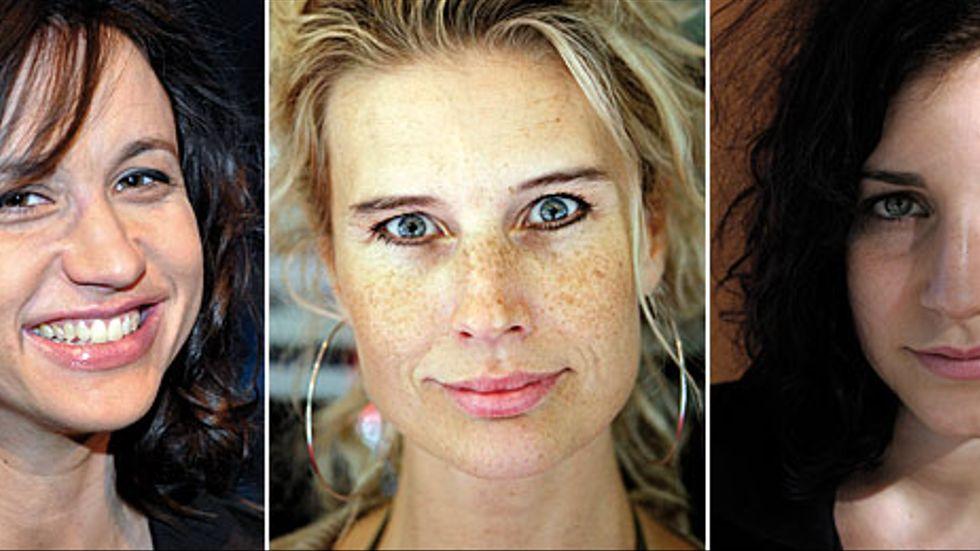 Petra Mede, Christine Meltzer och Nour El-Refai är några av de kvinnliga komikerna i den nya humorserien.